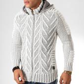 /achat-cardigans-gilets/classic-series-gilet-zippe-capuche-1014-gris-clair-chine-200500.html