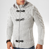 /achat-cardigans-gilets/classic-series-gilet-capuche-1012-gris-blanc-200501.html