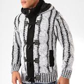 /achat-cardigans-gilets/classic-series-gilet-capuche-9000-blanc-noir-200505.html