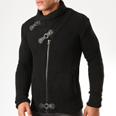 /achat-cardigans-gilets/classic-series-gilet-zippe-col-amplified-8002-noir-200510.html