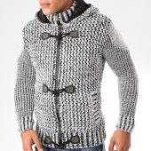 /achat-cardigans-gilets/classic-series-gilet-capuche-1019-blanc-noir-200512.html