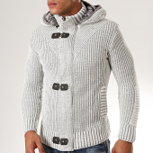 /achat-cardigans-gilets/classic-series-gilet-capuche-1002-gris-clair-chine-200515.html