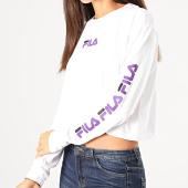 /achat-t-shirts-manches-longues/fila-tee-shirt-crop-femme-manches-longues-reva-687227-blanc-200458.html
