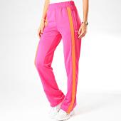 /achat-pantalons-joggings/fila-pantalon-jogging-femme-a-bandes-sachika-687258-rose-200476.html
