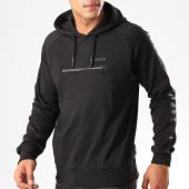 /achat-sweats-capuche/redskins-sweat-capuche-avec-bandes-mitra-loft-noir-200590.html