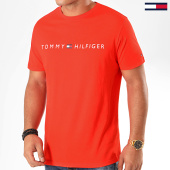 /achat-t-shirts/tommy-hilfiger-jeans-tee-shirt-cn-logo-flag-1434-rouge-200513.html
