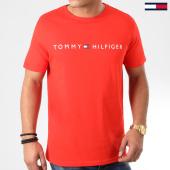 /achat-t-shirts/tommy-hilfiger-tee-shirt-cn-logo-flag-1434-rouge-200513.html