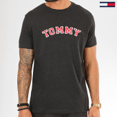 /achat-t-shirts/tommy-hilfiger-jeans-tee-shirt-cn-logo-1623-gris-anthracite-chine-rouge-200520.html
