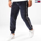 /achat-pantalons-joggings/tommy-hilfiger-jeans-pantalon-jogging-velours-a-bandes-1658-track-bleu-marine-200527.html