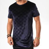 /achat-t-shirts-longs-oversize/uniplay-tee-shirt-oversize-velours-uy457-bleu-marine-200605.html
