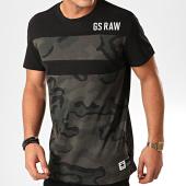 /achat-t-shirts/g-star-tee-shirt-graphic-2-d15625-a764-noir-vert-kaki-camouflage-200736.html