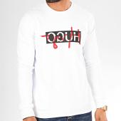 /achat-sweats-col-rond-crewneck/hugo-by-hugo-boss-sweat-crewneck-reverse-logo-dicago-201-50421623-blanc-noir-rouge-200740.html