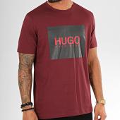 /achat-t-shirts/hugo-by-hugo-boss-tee-shirt-dolive201-50422155-bordeaux-200741.html