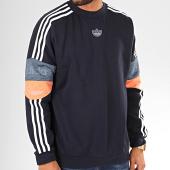 /achat-sweats-col-rond-crewneck/adidas-sweat-crewneck-a-bandes-trefoil-ed7180-bleu-marine-blanc-200867.html