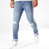 /achat-jeans/cash-money-jean-skinny-a-bandes-5007-bleu-denim-200753.html