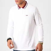 /achat-polos-manches-longues/hugo-by-hugo-boss-polo-manches-longues-donol-201-50422149-blanc-200765.html