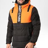 /achat-vestes/project-x-veste-col-zippe-capuche-1950003-noir-orange-200886.html