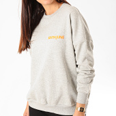 /achat-sweats-col-rond-crewneck/sixth-june-parisiennes-pull-femme-w3957ksw-gris-chine-orange-fluo-200896.html