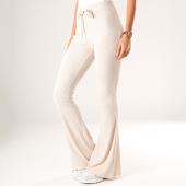/achat-pantalons-joggings/sixth-june-pantalon-evase-femme-w3954kpa-ecru-200854.html