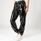 /achat-pantalons-carreaux/sixth-june-pantalon-femme-vinyle-4011cpa-noir-200872.html
