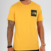 /achat-t-shirts/the-north-face-tee-shirt-fine-ceq5-jaune-noir-200819.html