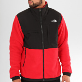/achat-vestes/the-north-face-veste-zippee-polaire-denali-2-3xav-rouge-noir-200834.html