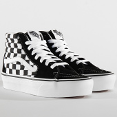 /achat-baskets-montantes/vans-baskets-femme-sk8-hi-platform-2-a3tknqxh-checkerboard-true-white-black-200795.html
