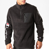 /achat-sweats-col-zippe/champion-sweat-col-zippe-213721-noir-200935.html