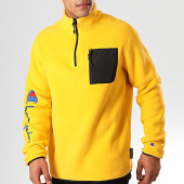 /achat-sweats-col-zippe/champion-sweat-col-zippe-213721-jaune-200938.html