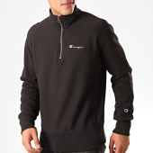 /achat-sweats-col-zippe/champion-sweat-col-zippe-214051-noir-200950.html