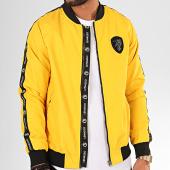 /achat-vestes/classic-series-veste-zippee-a-bandes-k-7438-jaune-noir-200940.html