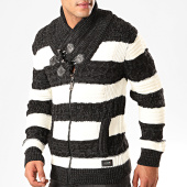 /achat-pulls/classic-series-pull-zippe-col-amplified-5130-noir-chine-blanc-201043.html