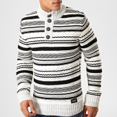 /achat-pulls/classic-series-pull-a-rayures-5152-gris-chine-noir-blanc-201046.html