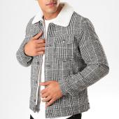 /achat-vestes/frilivin-veste-col-mouton-a-carreaux-qq569-noir-blanc-201059.html
