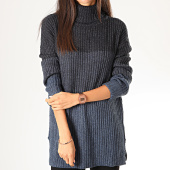 /achat-pulls/only-pull-col-roule-femme-vita-bleu-marine-chine-200988.html