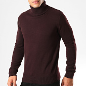 /achat-pulls/brave-soul-pull-col-roule-hume-bordeaux-201226.html
