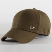 /achat-casquettes-de-baseball/calvin-klein-casquette-side-logo-5182-vert-kaki-201201.html