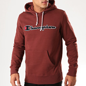 /achat-sweats-capuche/champion-sweat-capuche-script-logo-213498-bordeaux-201242.html