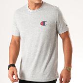 /achat-t-shirts/champion-tee-shirt-suede-c-logo-213523-gris-chine-201252.html