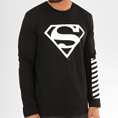 /achat-t-shirts-manches-longues/superman-tee-shirt-manches-longues-sleeve-noir-201195.html