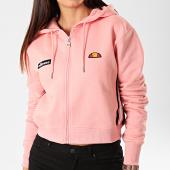/achat-sweats-zippes-capuche/ellesse-sweat-crop-zippe-capuche-femme-aldo-sgd07999-rose-201287.html