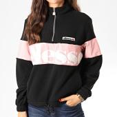 /achat-sweats-col-zippe/ellesse-sweat-col-zippe-femme-polaire-toudi-sgd08033-noir-rose-201298.html