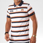 /achat-polos-manches-courtes/ellesse-polo-manches-courtes-a-rayures-saca-shd08115-blanc-bleu-marine-orange-201309.html