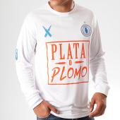 /achat-t-shirts/lacrim-cartel-tee-shirt-de-sport-manches-longues-plata-o-plomo-marseille-edition-blanc-201227.html