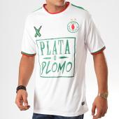 /achat-t-shirts/lacrim-cartel-tee-shirt-de-sport-a-bandes-plata-o-plomo-dz-edition-blanc-201228.html