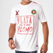 /achat-t-shirts/lacrim-cartel-tee-shirt-de-sport-a-bandes-plata-o-plomo-maroc-edition-blanc-201231.html
