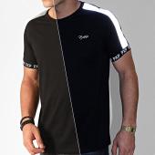 /achat-t-shirts/project-x-tee-shirt-a-bandes-1910077-noir-reflechissant-201188.html
