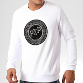 /achat-sweats-col-rond-crewneck/project-x-sweat-crewneck-a-strass-1920051-blanc-201198.html
