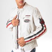/achat-vestes-cuir/redskins-veste-en-cuir-a-bandes-rafter-calista-blanc-201161.html