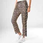 /achat-pantalons-joggings/fila-pantalon-jogging-femme-leopard-a-bandes-paniz-687359-jaune-marron-noir-201361.html